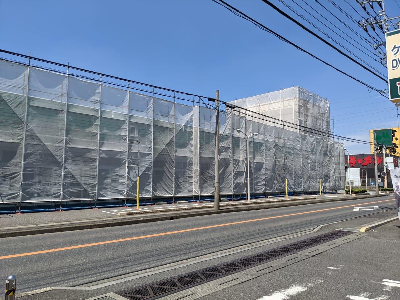 激安スーパーが7月上旬オープン!?閉店した「マルエツ野々下店」の跡地が新たに生まれ変わるようです!
